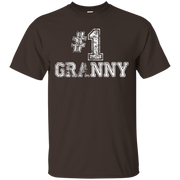 #1 Granny T Shirt – Number One Grandmother Mother Gift Tee – T-Shirt