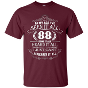 88 Years Old Birthday Vintage T-Shirt