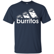 All Day I Dream About Burritos Funny Amigo Lover Tee Shirt – T-Shirt