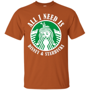 All I Need Is Coffee T-shirt – T-Shirt