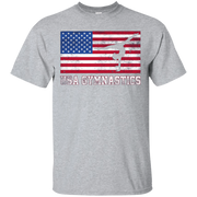 American Flag USA Gymnastics T-Shirt Team Training 2016
