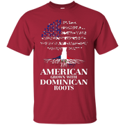 American Grown With DOMINICAN Roots T-Shirt Tshirt