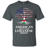 American Grown With LEBANESE Roots T-Shirt Tshirt