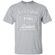 70th Birthday Gift Vintage 1946 Limited Edition T-Shirt