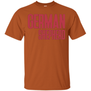 All I Care About Is My German Shepherd And Coffee – T-Shirt