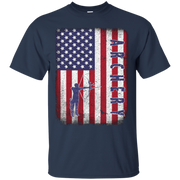 AMERICAN ARCHERY T-shirt USA Flag Tee Sport Team Jersey – T-Shirt