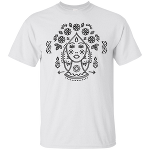 """Virgo the Virgin"" Zodiac T-Shirt (Black)"