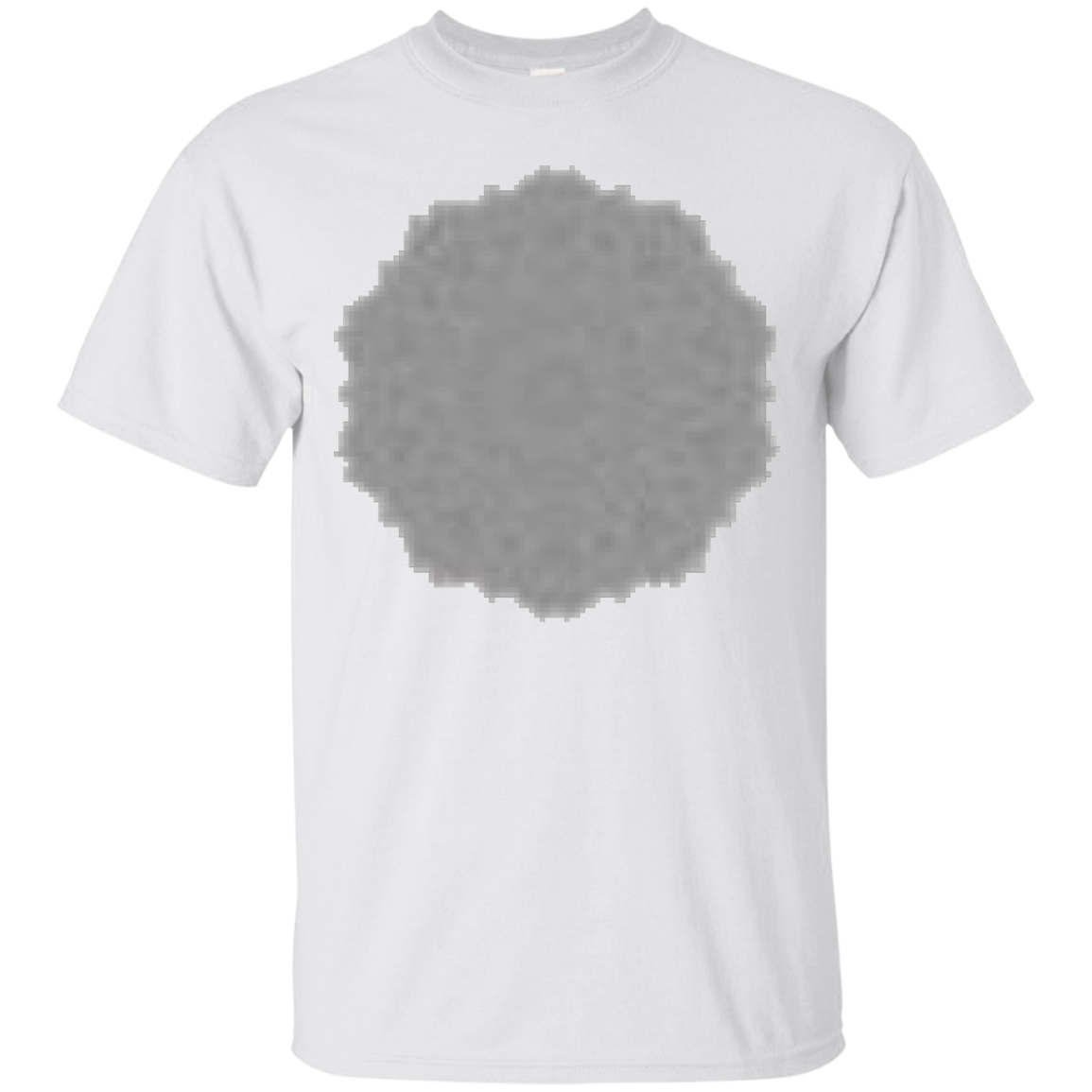 Adult Coloring Mandala T-shirt to Color Yourself – T-Shirt