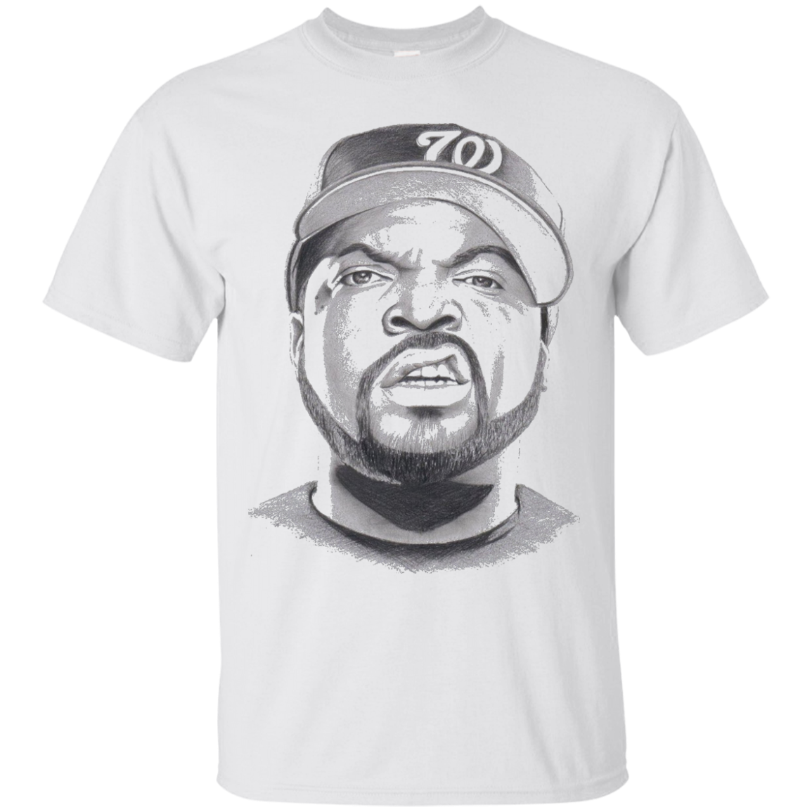 ice cube drawing t-shirt - T-Shirt