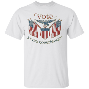Vote Your Conscience Shirt Election 2016 Tee Ted Cruz Quote – T-Shirt