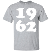 1962 T Shirt Birthday Gift Tee Made In 1962 Tshirt – T-Shirt