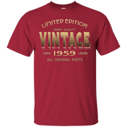 57th BIRTHDAY Gift 1959 VINTAGE T-shirt 57 Year Old Bday Tee – T-Shirt