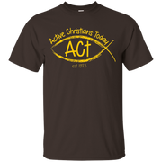 Active Christians Today Yellow Logo Basic Tee – T-Shirt