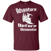 Adventure Before Dementia Funny Surfer Surfing T-Shirt