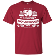 Aged 50 Years To Perfection 50th Birthday Gift Idea T-Shirt