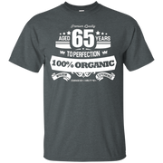 Aged 65 Years To Perfection 65th Birthday Gift Idea T-Shirt