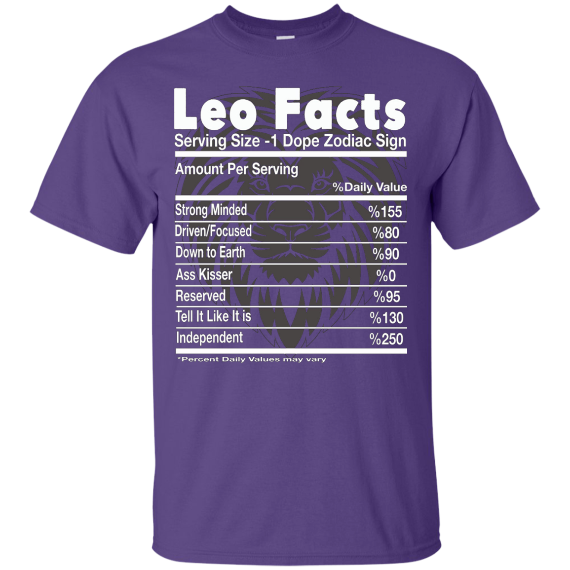 Leo Facts - Birthday gift for Leo - T-Shirt
