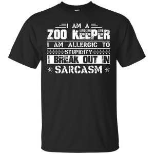 Zoo Keeper Tshirt – I Am A Zookeeper T-shirt – T-Shirt