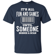 All Fun Until Someone Misses A Scan Funny Mail Carrier Shirt – T-Shirt