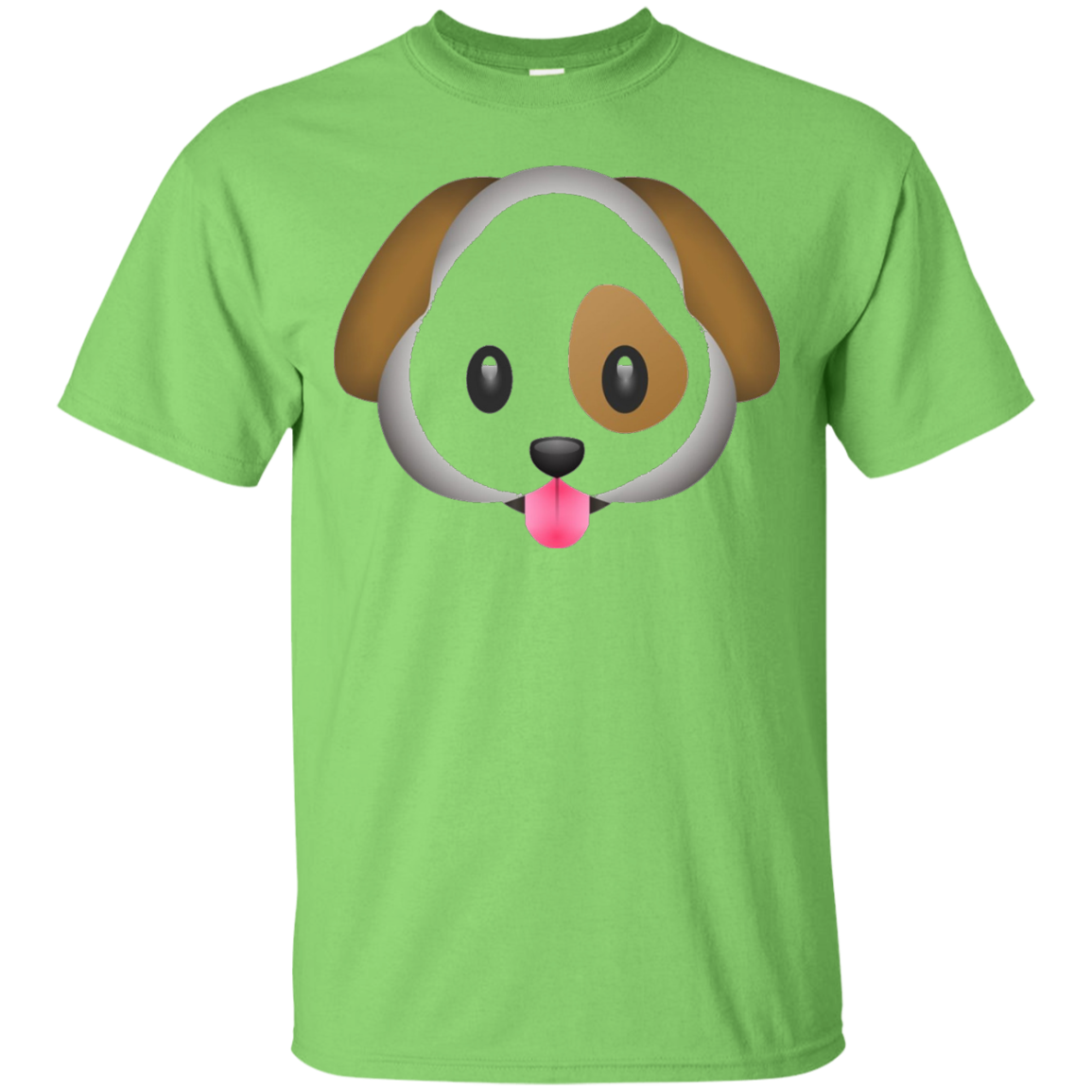 Dog Puppy Emoji T Shirt - T-Shirt