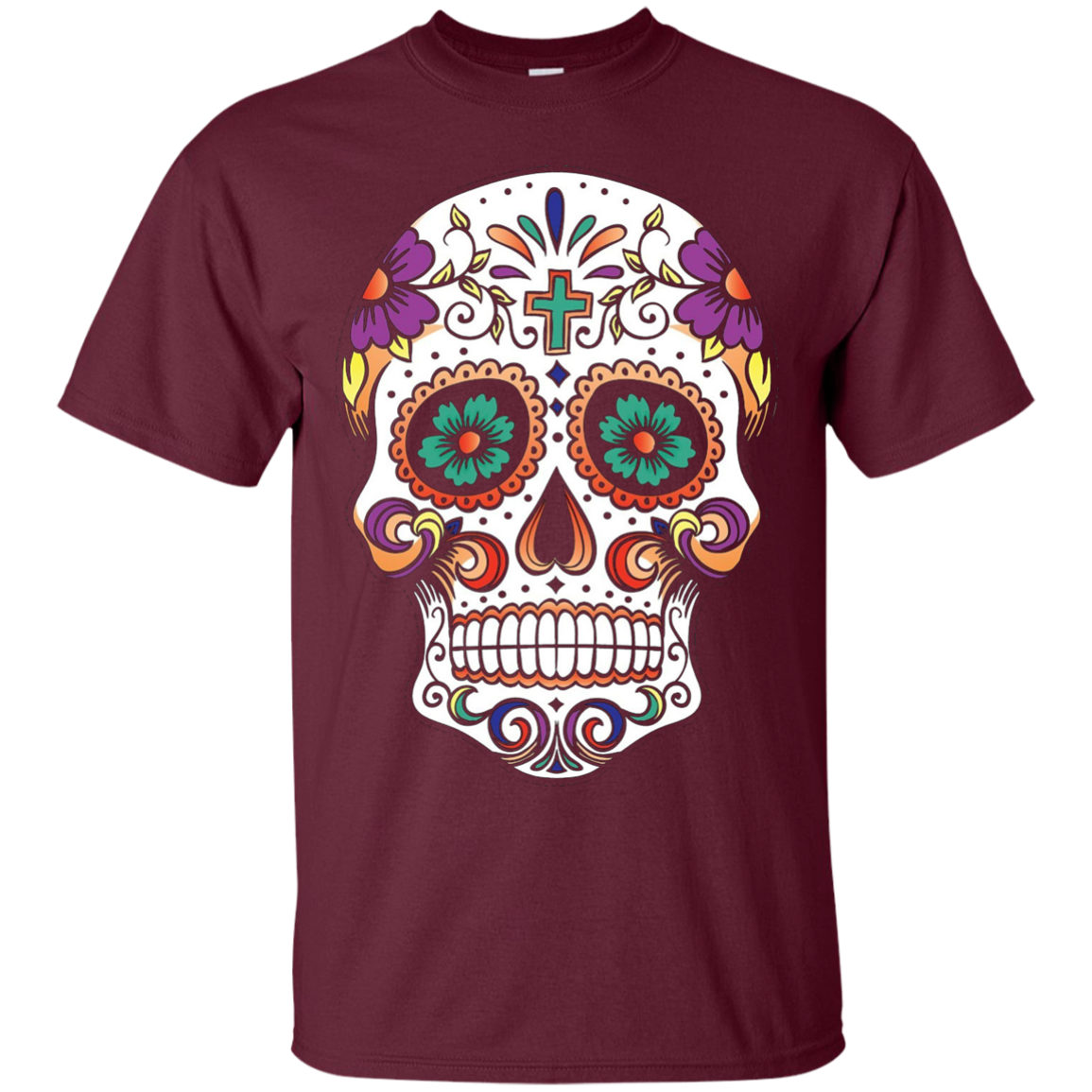 Sugar Skull Purple Prince Tshirt - T-Shirt