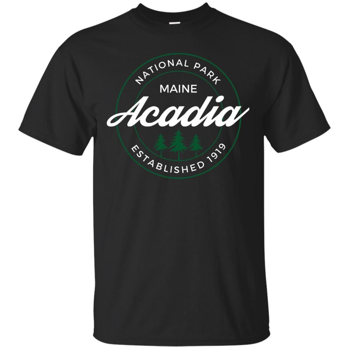 Acadia National Park T Shirt Maine - T-Shirt
