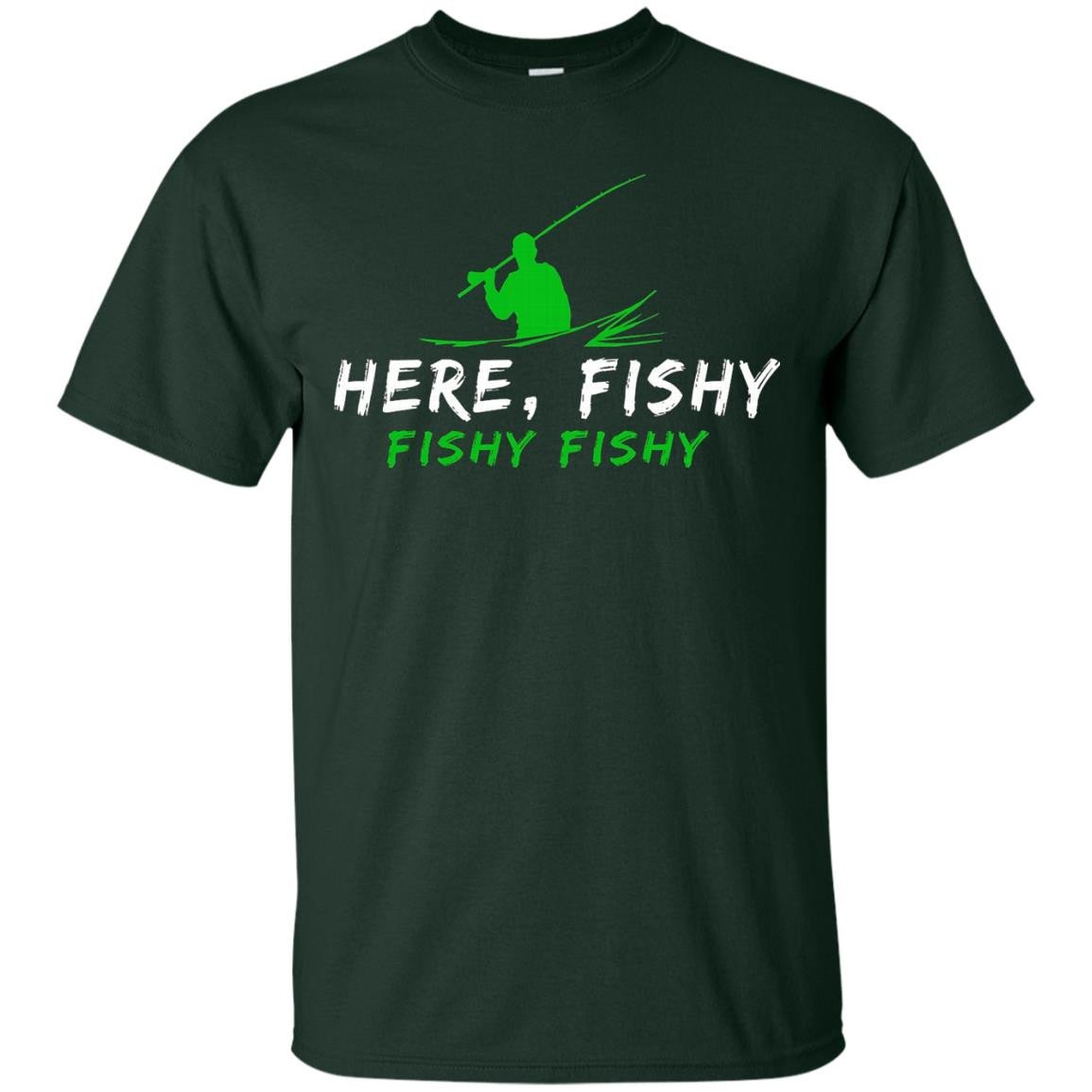 Here, Fishy Fishy Fishing T Shirt - T-Shirt
