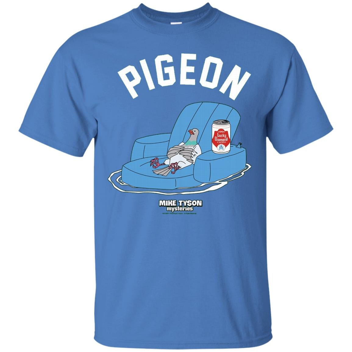 Mike Tyson Mysteries Pigeon In The Pool - T-Shirt
