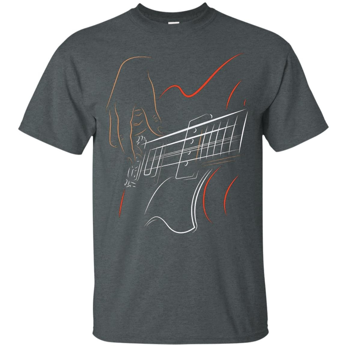 Active Bass Guitar Rock Music T-shirt Graphic Guitar Player - T-Shirt