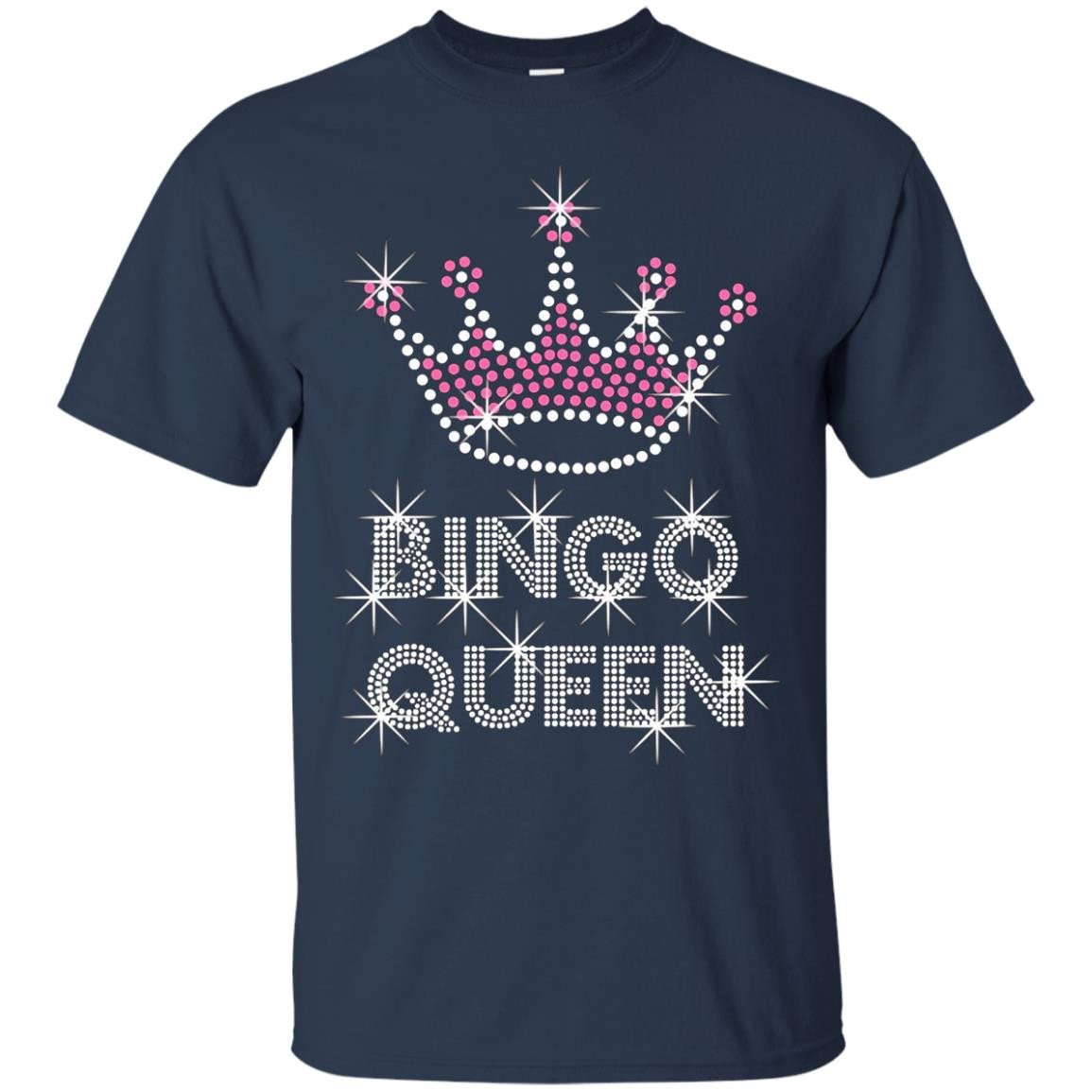 Bingo T-shirts bingo queen shirt top - T-Shirt