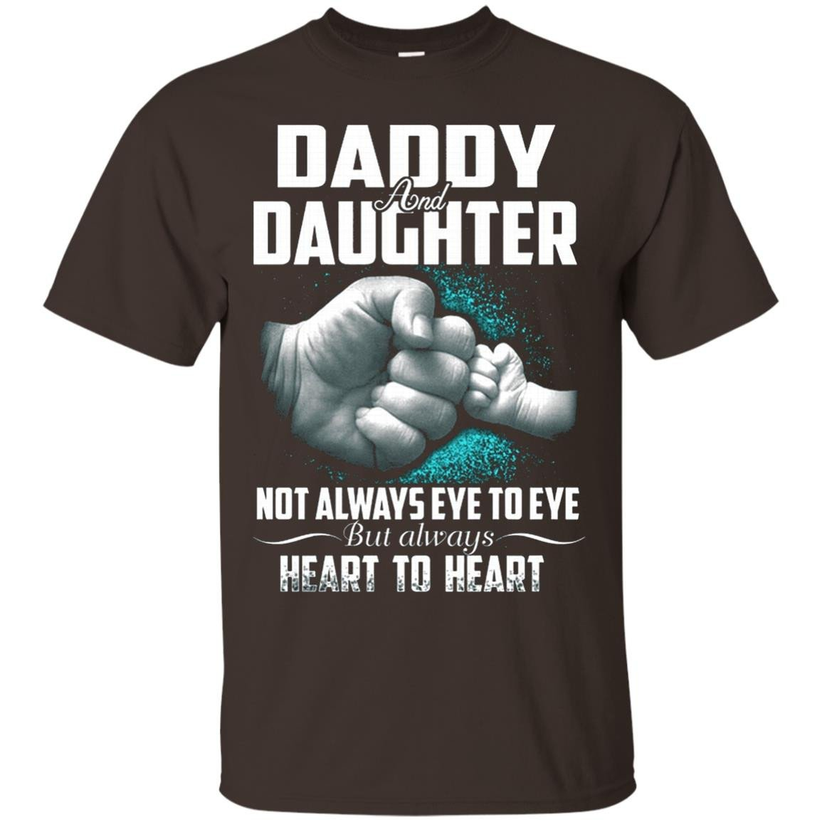 Daddy daughter not always eye to eye - T-Shirt