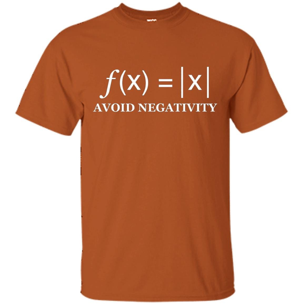 Avoid Negativity Funny Math formula Engineer tshirt - T-Shirt