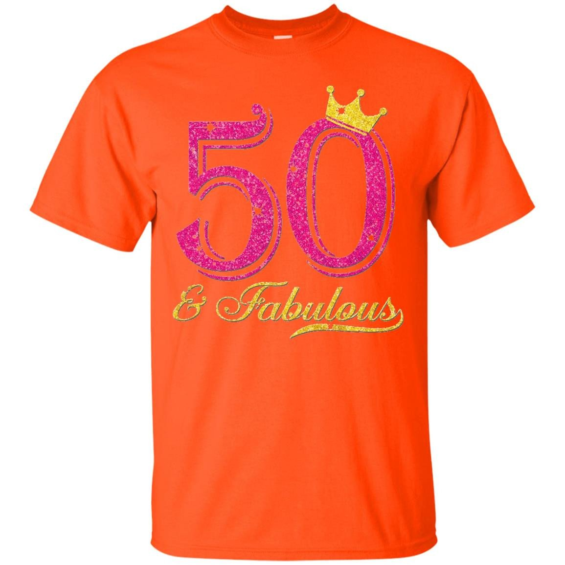 50th Birthday Girl Fabulous Queen Shirt - T-Shirt
