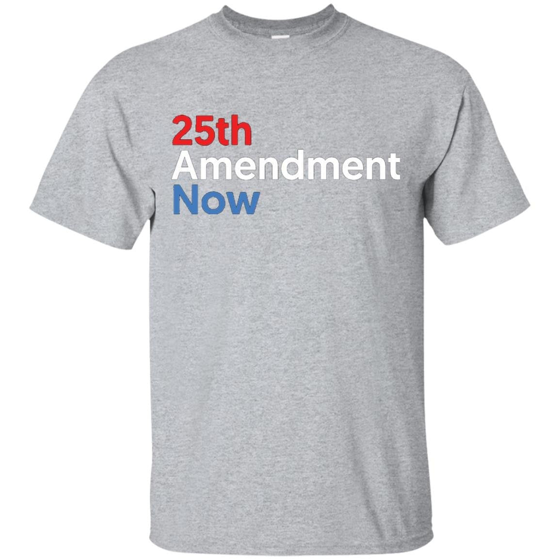 25th Amendment Now T-Shirt