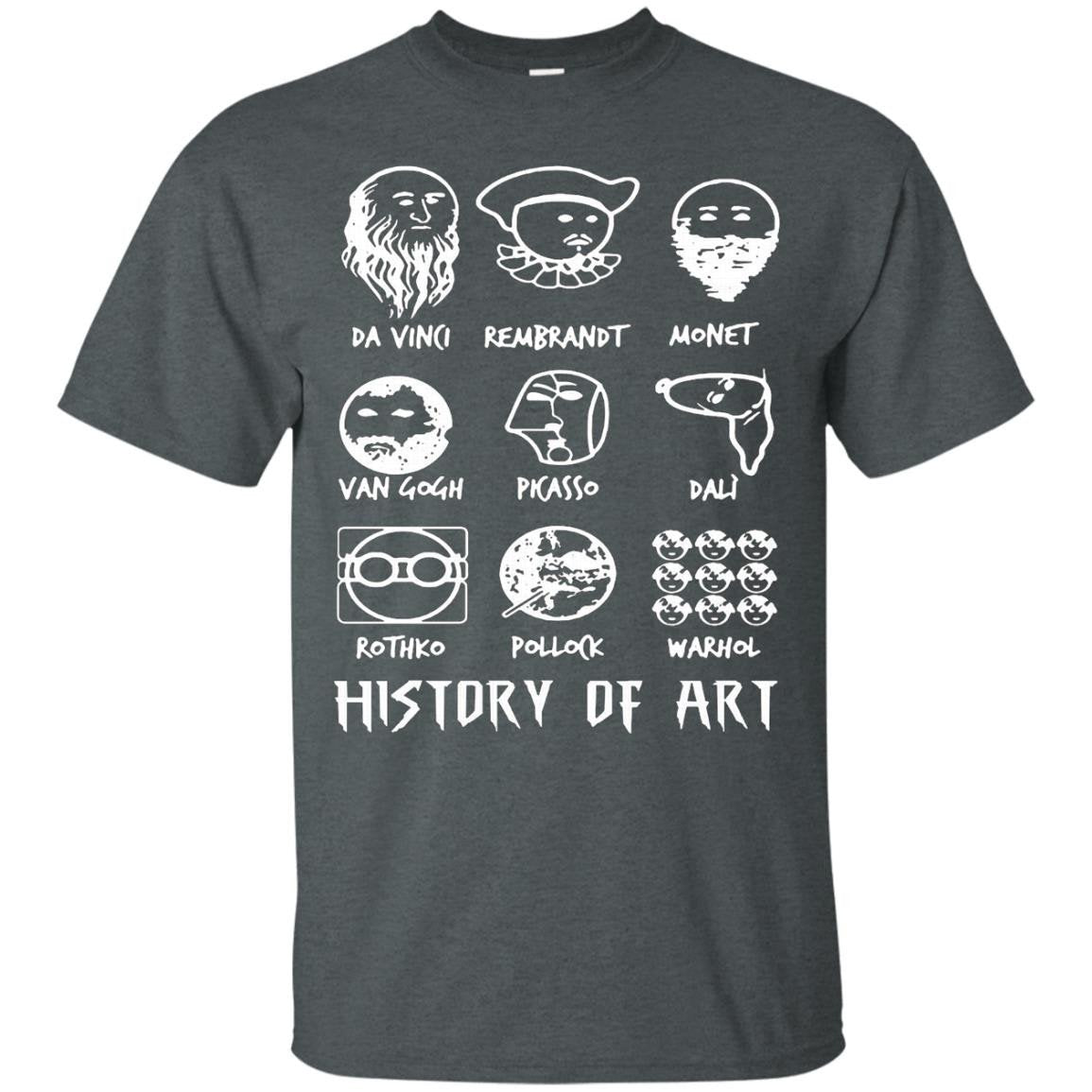 History of Art Funny T-shirt - T-Shirt