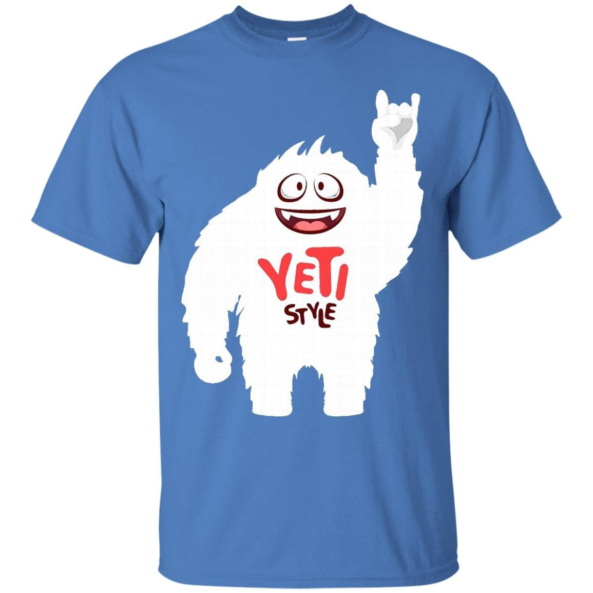 Yeti Style Shirt - ALL COLORS Mens Womens Kids Yeti Tshirt - T-Shirt
