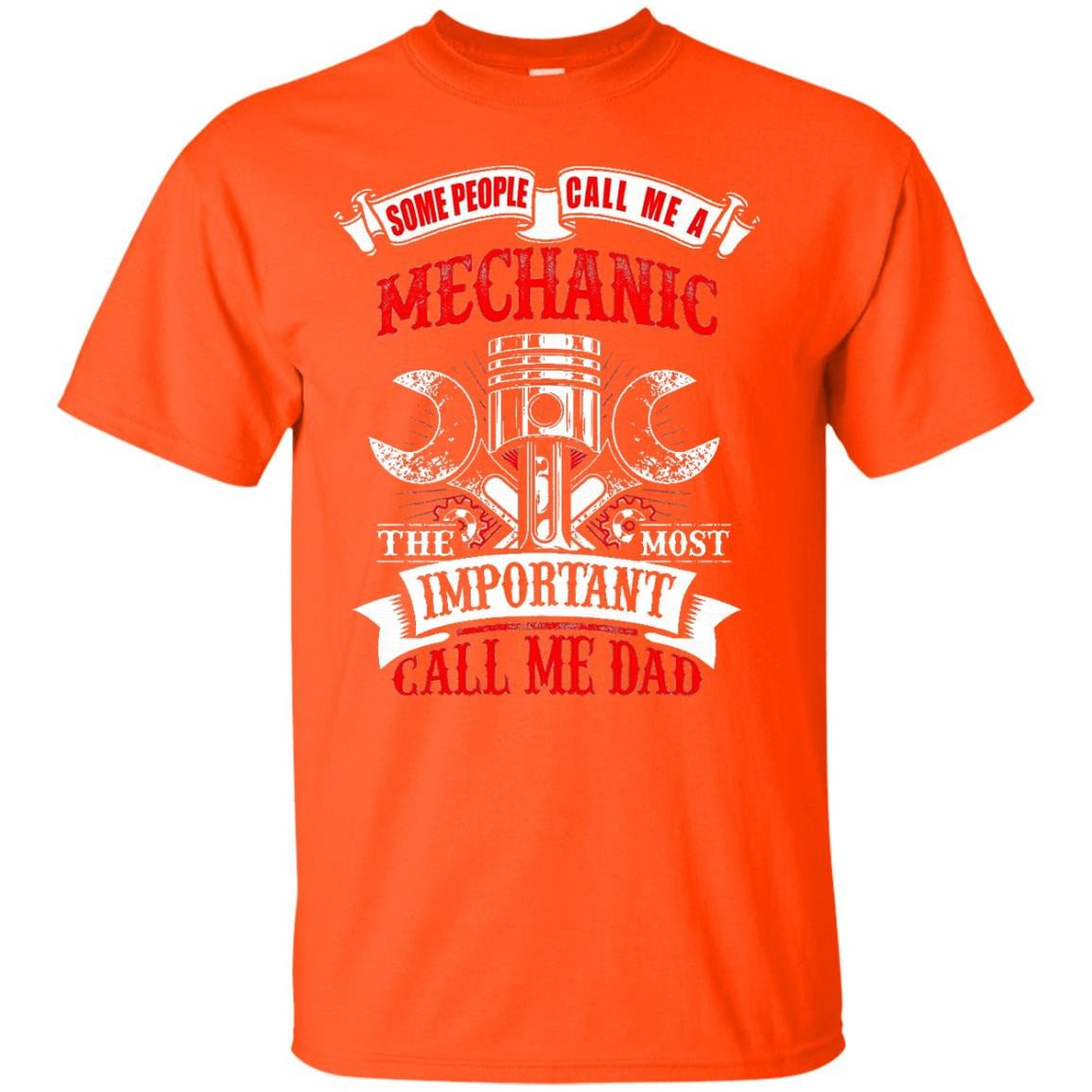 Mens Mechanic Dad Gift for Father's Day T Shirt - T-Shirt