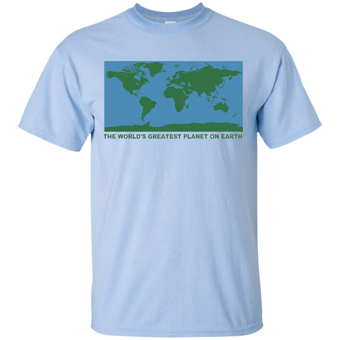 The World's Greatest Planet On Earth T-Shirt - Earth Shirt