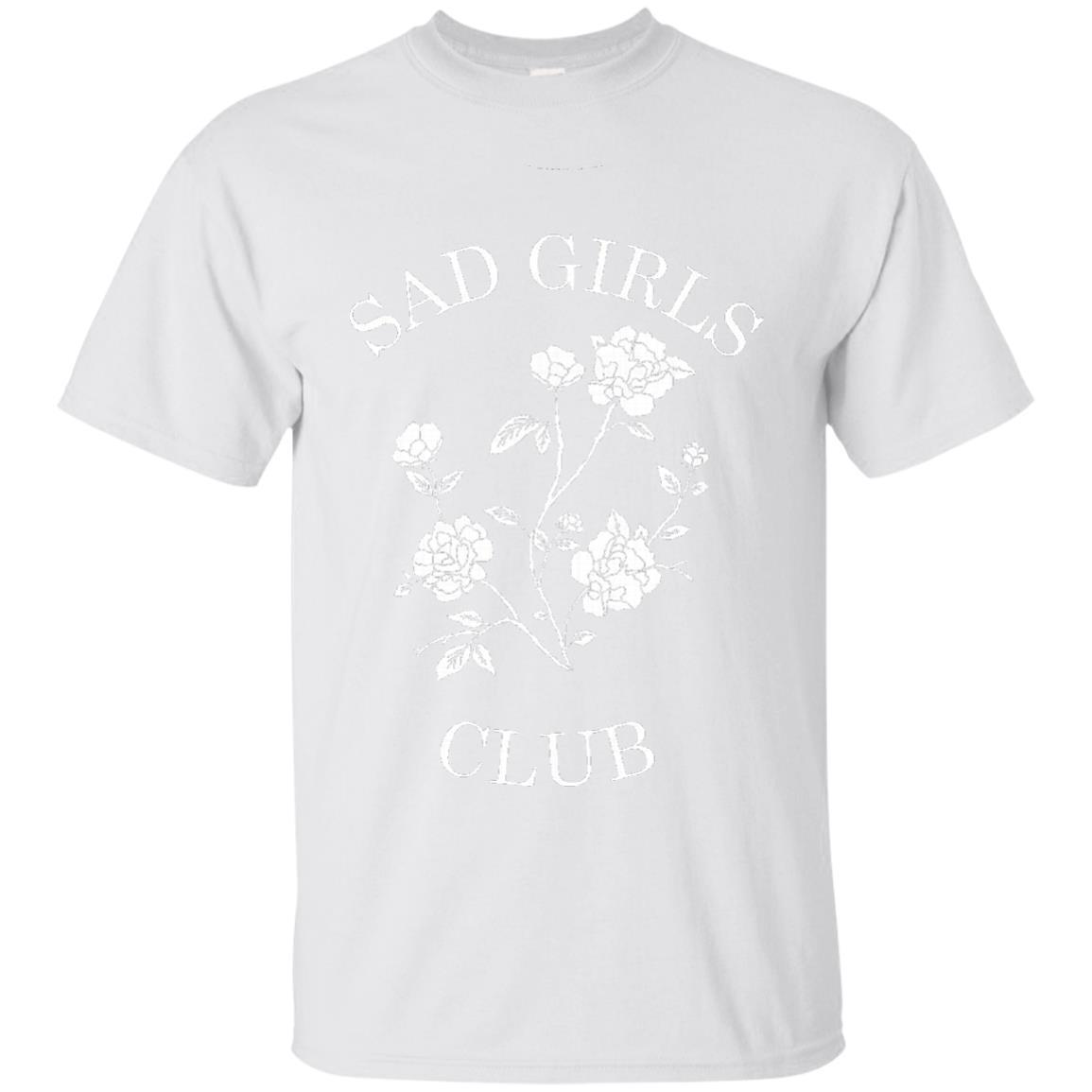 Womens Sad Girls Club popular internet meme tshirt - T-Shirt