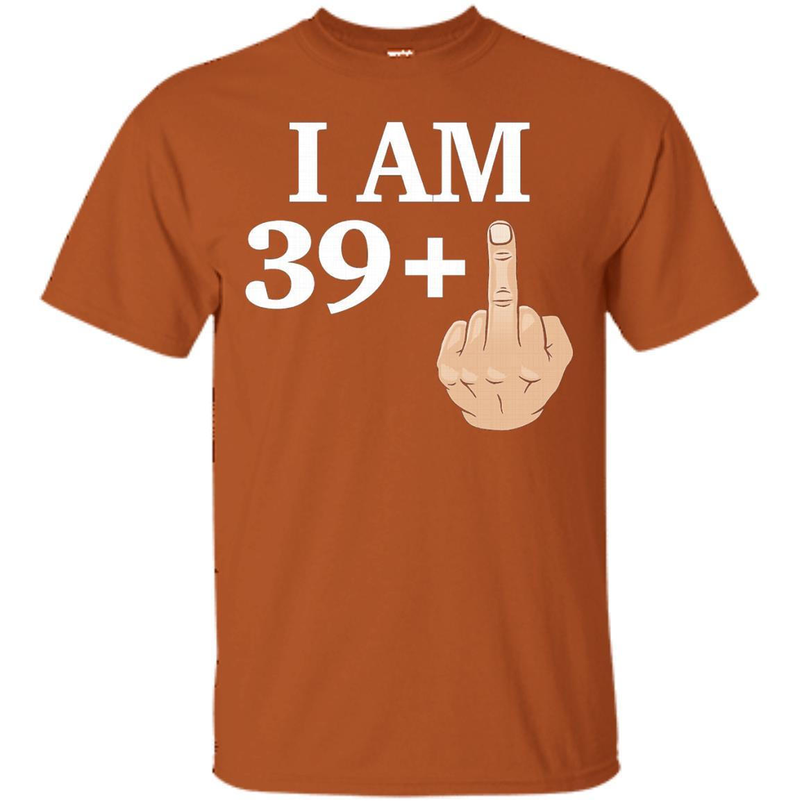 39 Plus 1 40th Birthday Made In 1977 T-Shirt