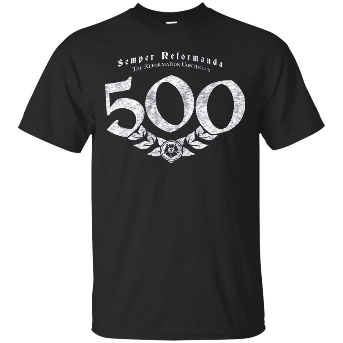 500th Anniversary Reformation Semper Reformanda Shirt