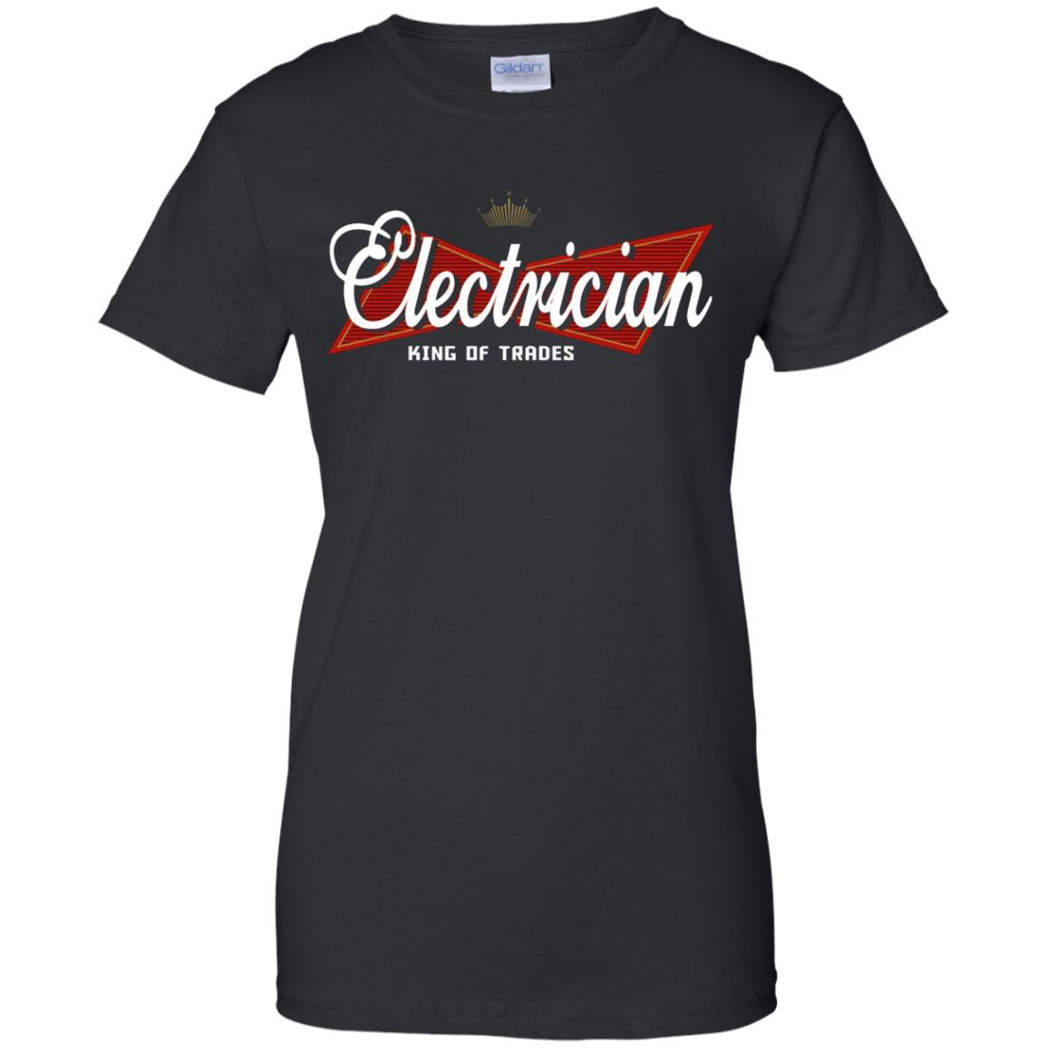Electrician King of Trades T-Shirt