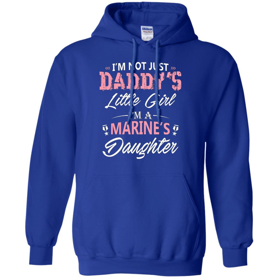 Not Just Daddy's Little Girl Marine's Daughter T-shirt