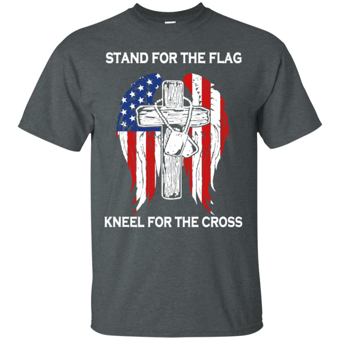 Stand For The Flag Kneel For The Cross T-Shirt Style / Color / Size
