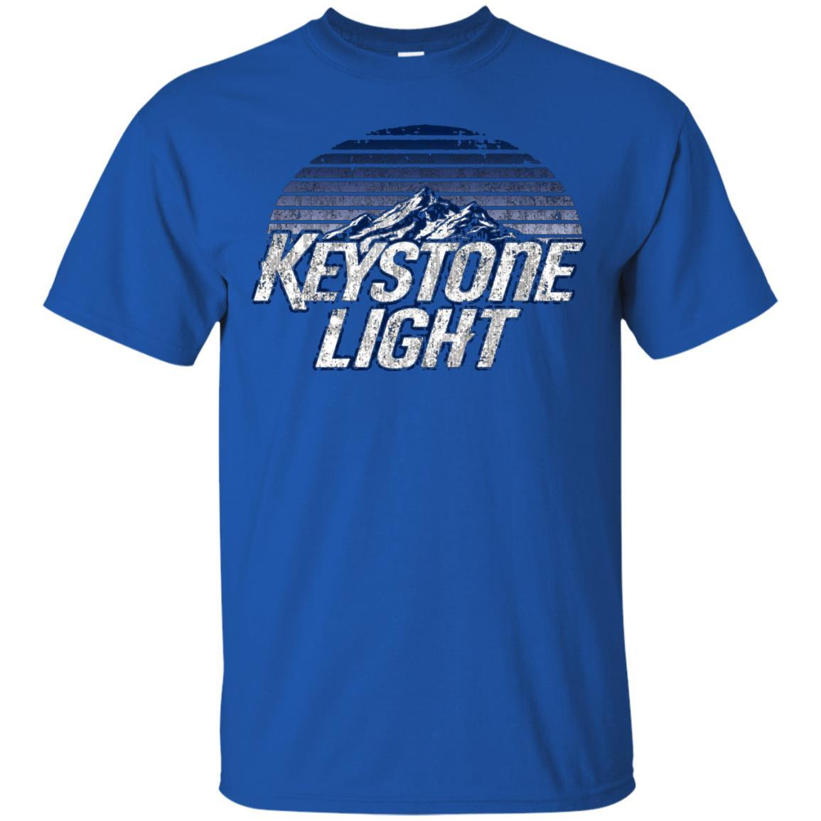 Keystone Light Beer Classic Look T-Shirt Style / Color / Size