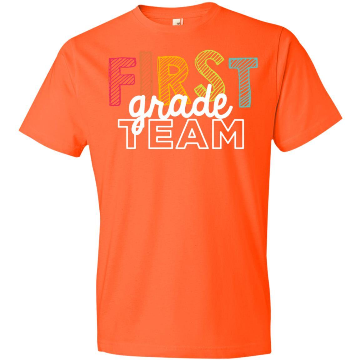 First Grade Team Shirts - Anvil Lightweight T-Shirt Style / Color / Size