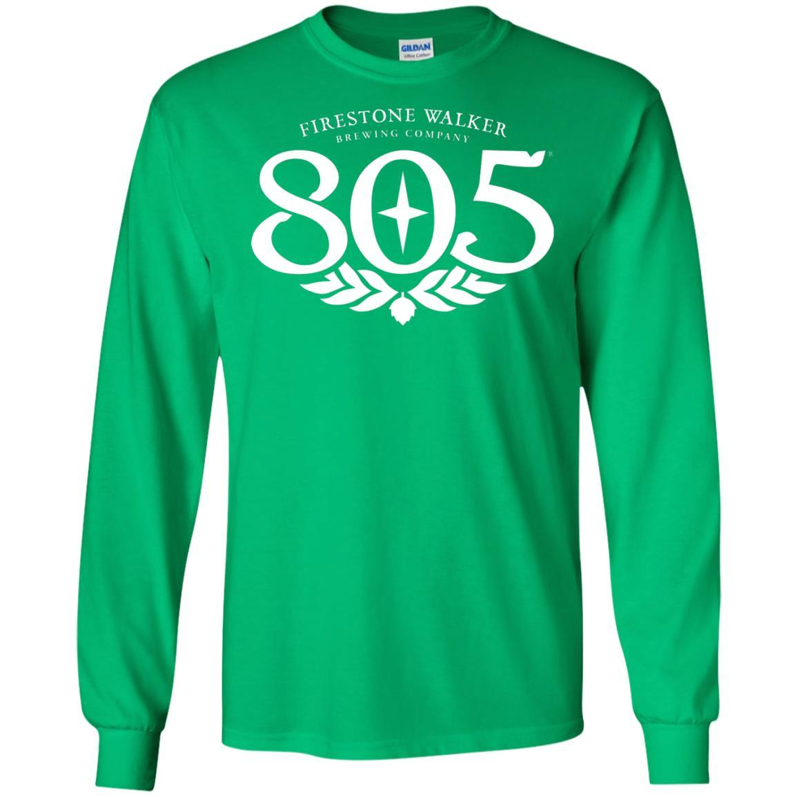 805 Beer - LS T-Shirt Style / Color / Size