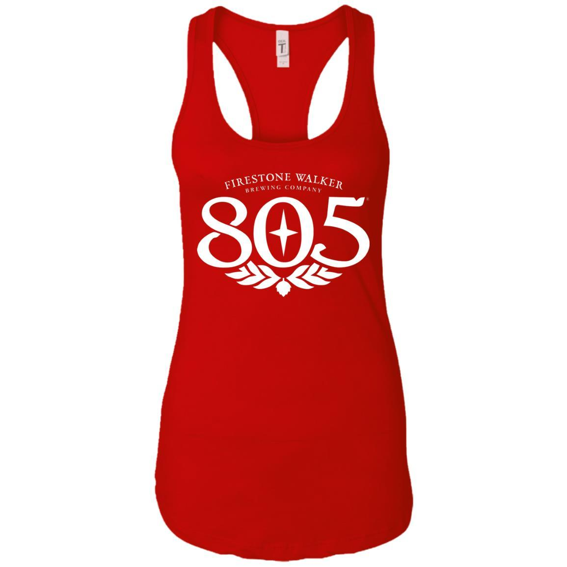 805 Beer - Ladies Ideal Racerback Tank Style / Color / Size