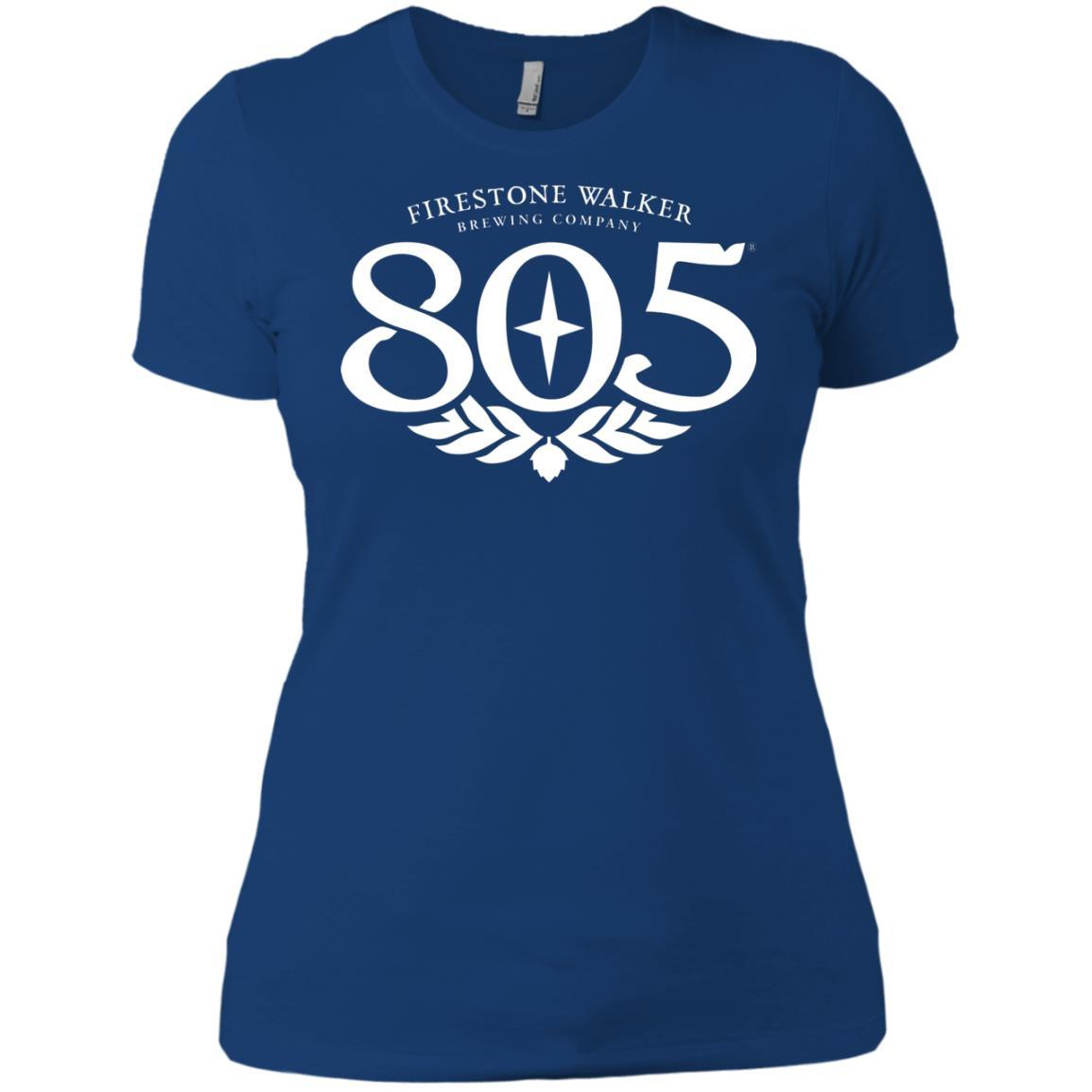 805 Beer - Ladies' Boyfriend T-Shirt Style / Color / Size