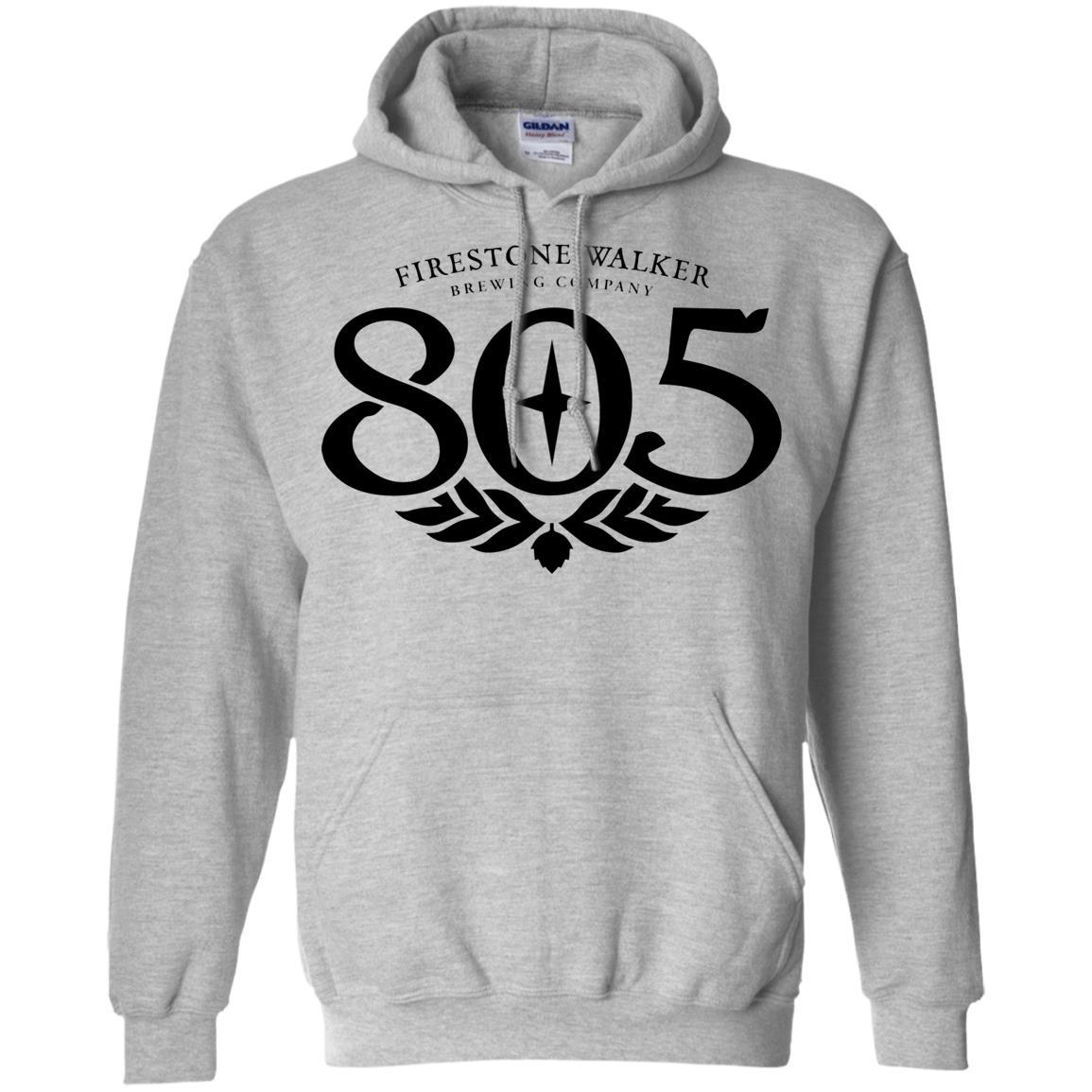 805 Beer Black - Pullover Hoodie Style / Color / Size